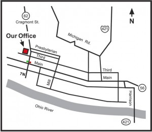 Map to Madison Office